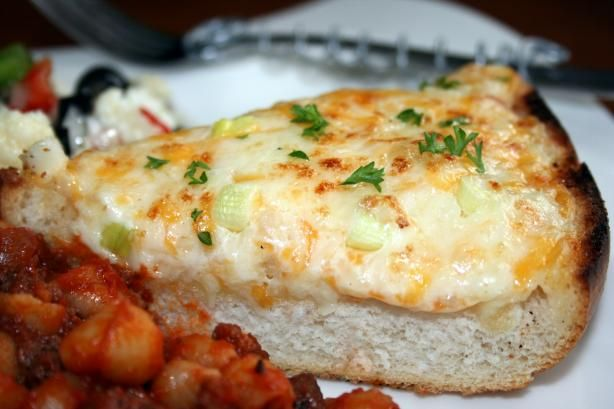 Cheesy Bread Recipe - Forgt the calories and go for it.