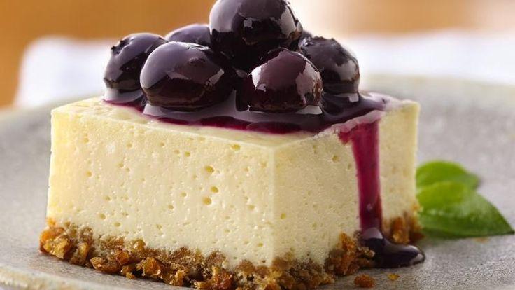 Blueberry Cheesecake Squares | Recipe