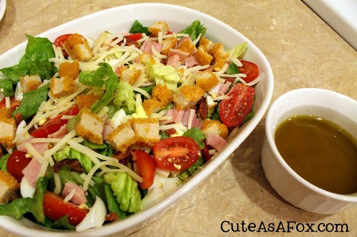 Quick and Easy Cobb Salad | Salads | Pinterest