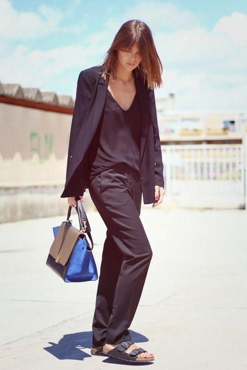 Celine putting Birkenstocks back on the fashion map......
