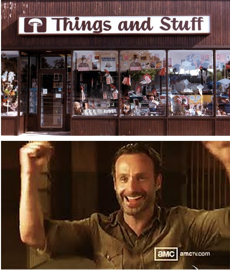 Rick Grimes....stuff and things