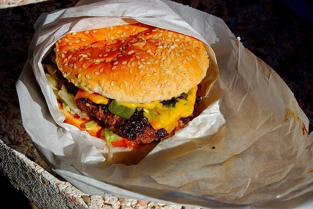 Burger Boy - Green Chile Buffalo Burger | New Mexico - Home Sweet Hom ...