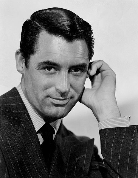 """Cary Grant 1904-1986 English-American actor, named second Greatest Male Star of all Time by the American Film Institute.Best known films include """"The Awful Truth"""" 1937, """"His Girl Friday"""" 1940, """"To Catch A Thief"""" 1955, """"An Affair to Remember"""" 1957, """"Charade"""" 1963."""