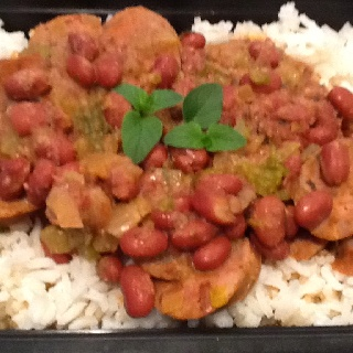 Andouille Sausage with Red Beans & Rice | Pictures of food I actuall ...
