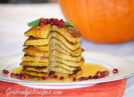 Fluffy Buttermilk Pumpkin Oladi - Russian Pancakes Recipe