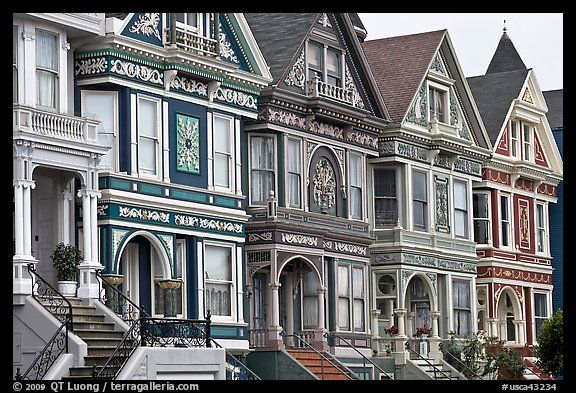 Pin by merrie stringall irwin on victorian painted ladies for San francisco victorian houses