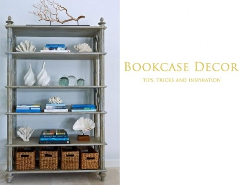 bookcases... decorating ideas