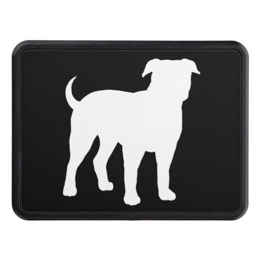 American bulldog silhouette - photo#7