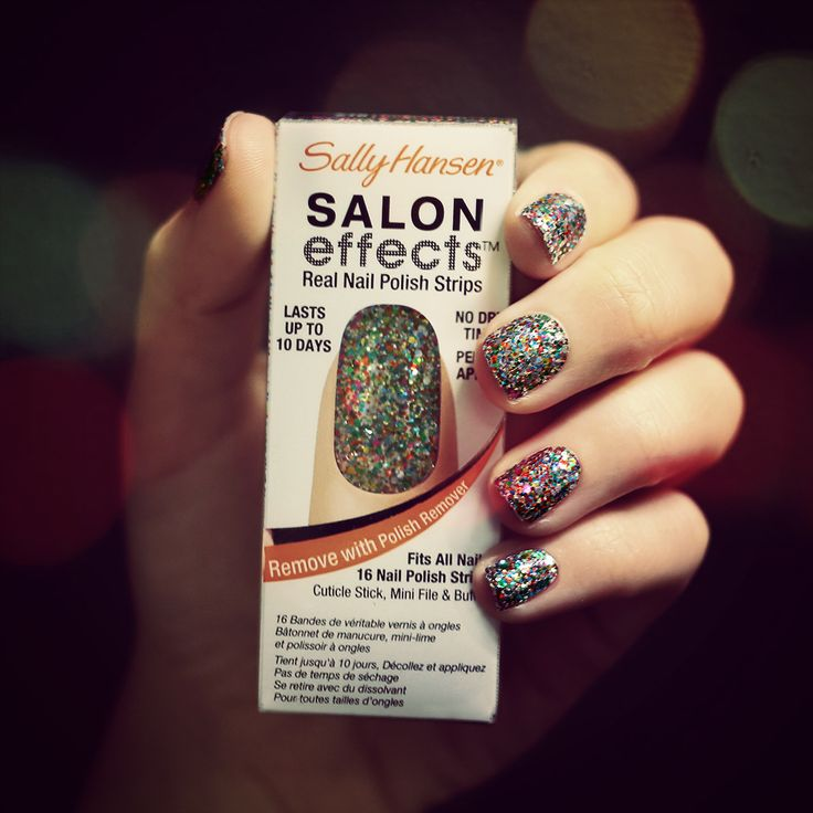 Channel your inner rockstar with Salon Effects Real Nail Polish Strips ...