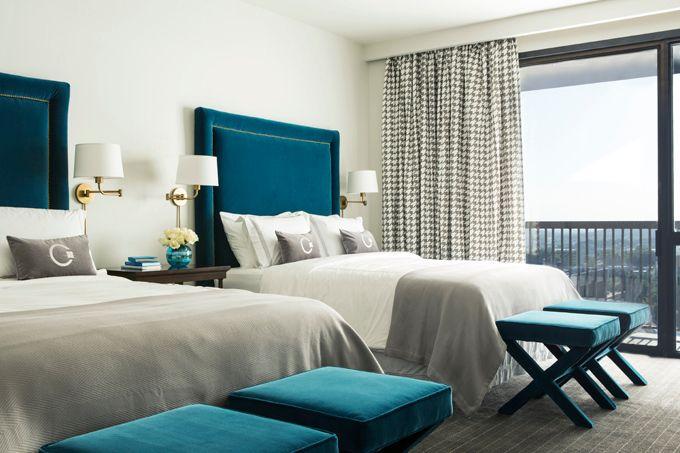 House of Turquoise: Tobi Fairley + The Chancellor Hotel. This hotel is in ARKANSAS.