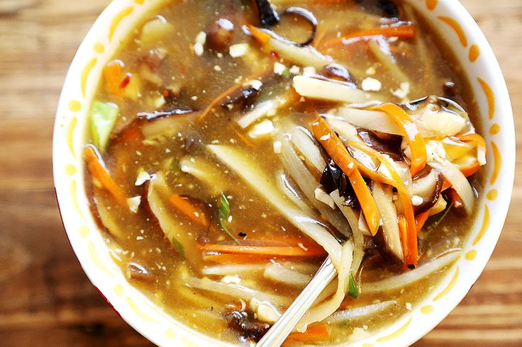 Restaurant Style Chinese Hot and Sour Soup (Vegan) - Recipes, Soups ...