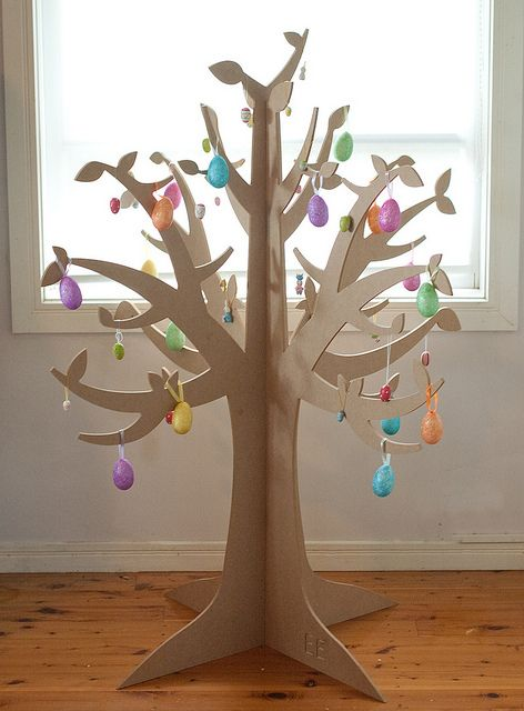 Объемное дерево своими руками на картоне