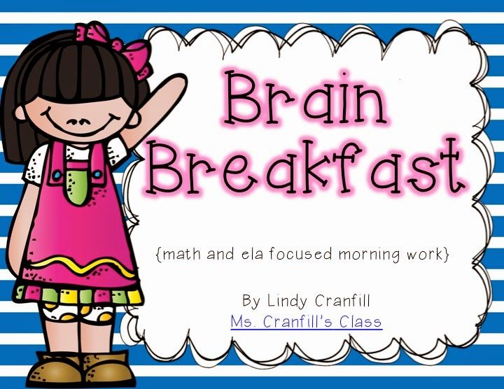 Brain Breakfast morning work | first grade | Pinterest