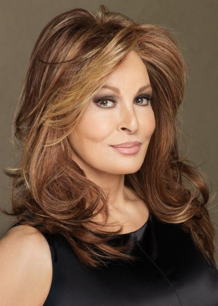 Raquel Welch Long Hairstyles Hairstyles Pinterest