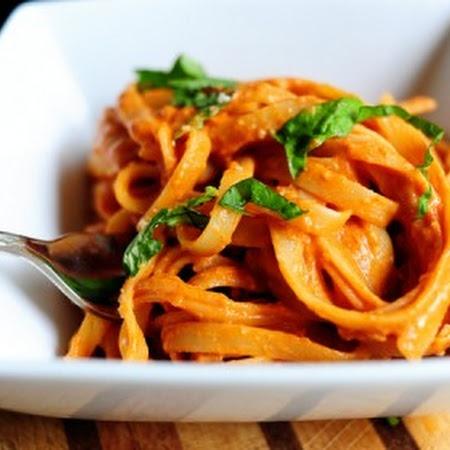 Pasta with Tomato Cream Sauce | Food Junkie | Pinterest