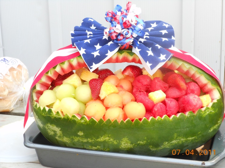 watermelon 4th of july drinks