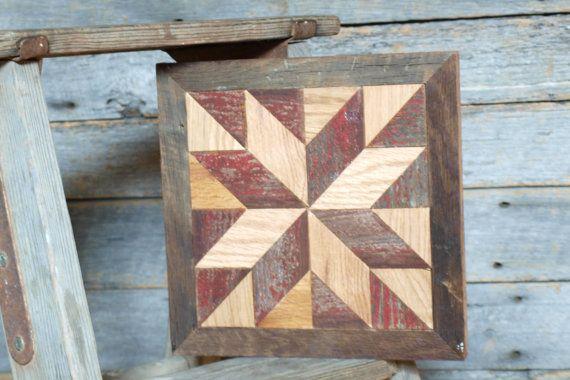 wooden barn star quilt block rustic decor by IlluminativeHarvest, $55 ...