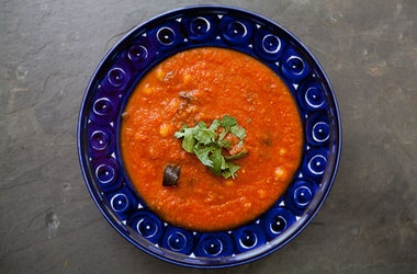 Roasted Eggplant and Tomato Soup (v) | Health Wise... | Pinterest