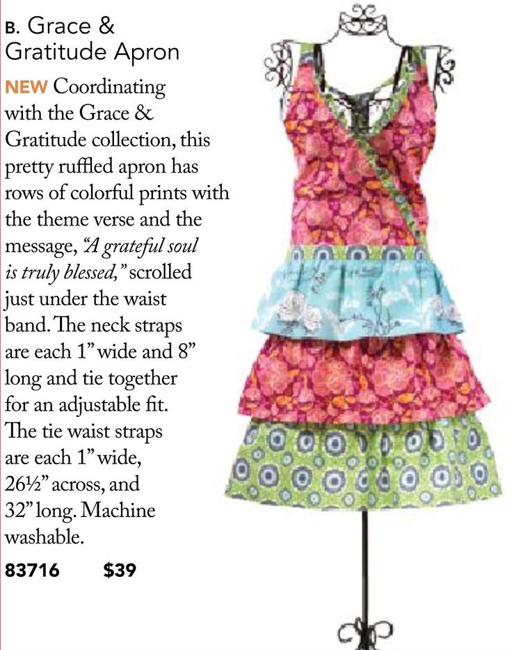 Grace and gratitude apron so cute mary amp martha pinterest