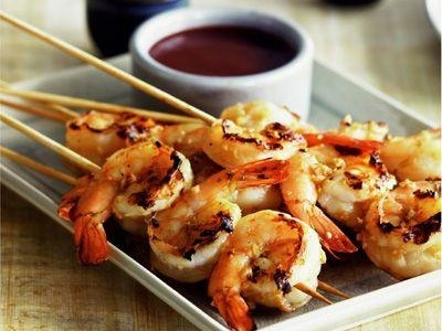 Grilled Ginger Shrimp Recipe