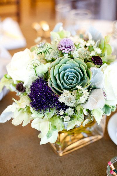 gorgeous mixed florals