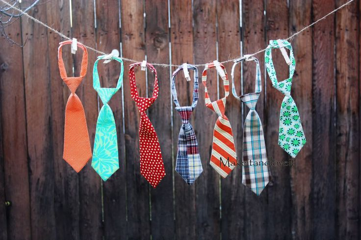 The TIE PATTERN-how to make a little boy's tie