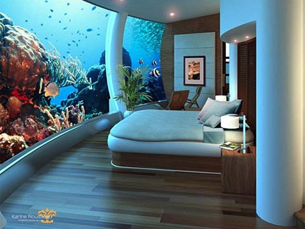 Oh my!  I'd never have to clean the fish tank!!!