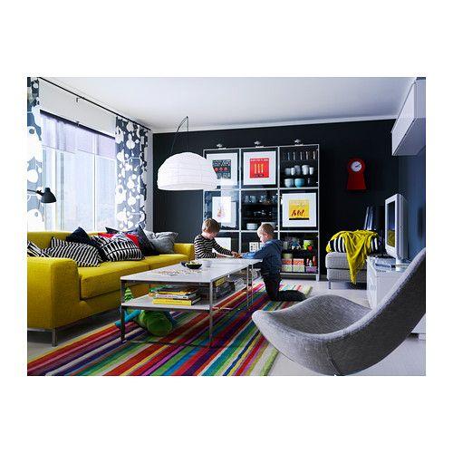 regolit floor lamp arc white black