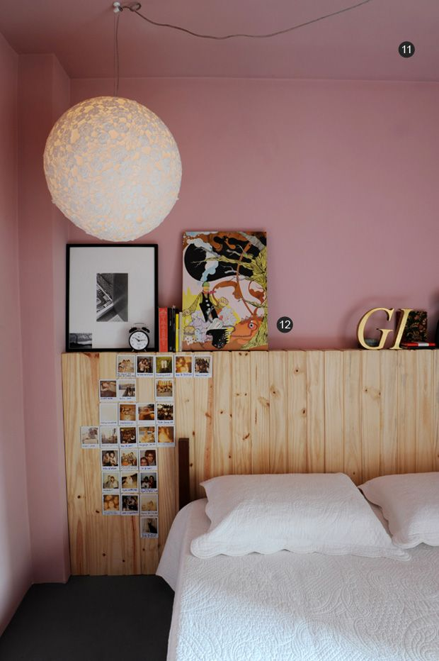 quarto rosa | pink bedroom #decor