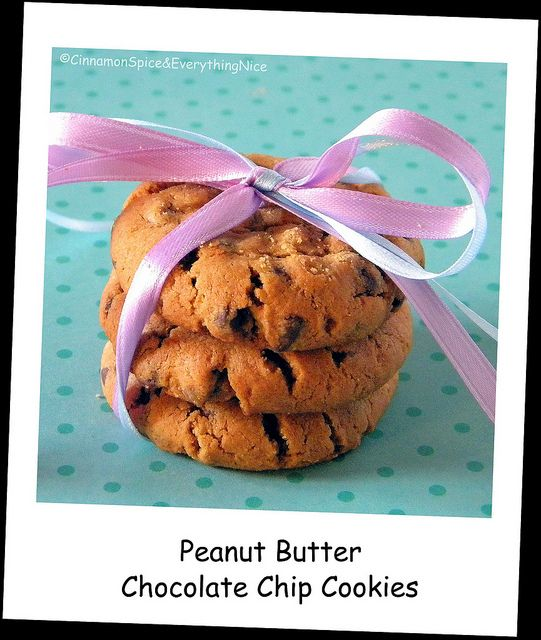 Flourless Peanut Butter Chocolate Chip Cookies (gluten-free)