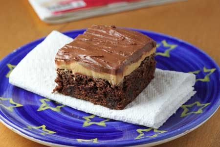 involve peanut butter this extreme fudgy peanut butter brownie is ...