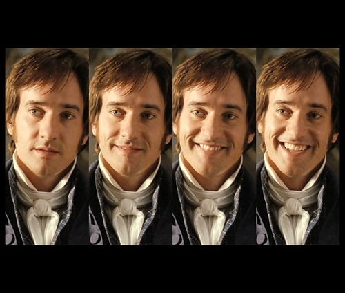Did Matthew Macfadyen live up to your expectations of Mr. Darcy? Absolutely! A hundred and fifty per cent. I mean, he blew away my expectations of the character. He is the perfect Mr. Darcy. (Keira Knightley)