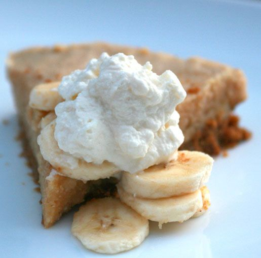 Peanut Butter and Banana Pie | kristy | Pinterest
