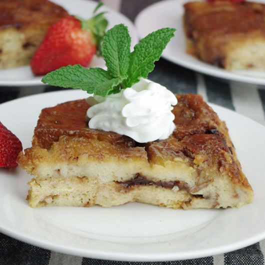 Baked Cinnamon French Toast   Breakfast   Pinterest