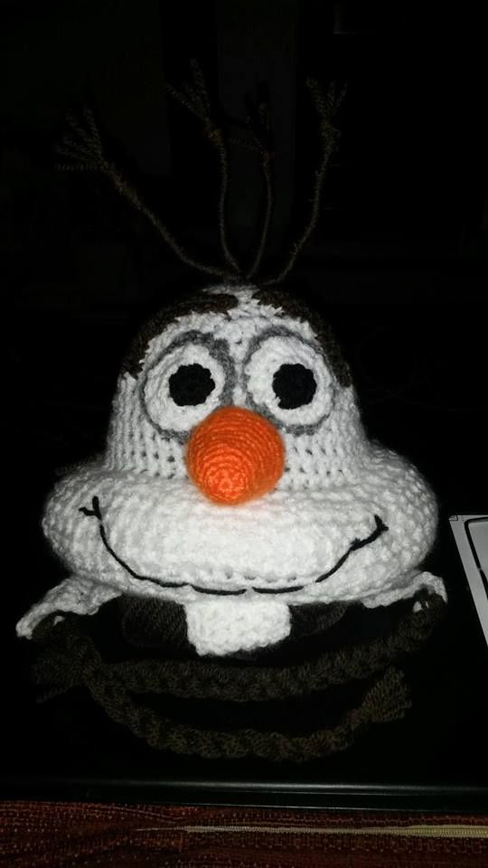 Olaf Crochet Hat Pattern Party Invitations Ideas