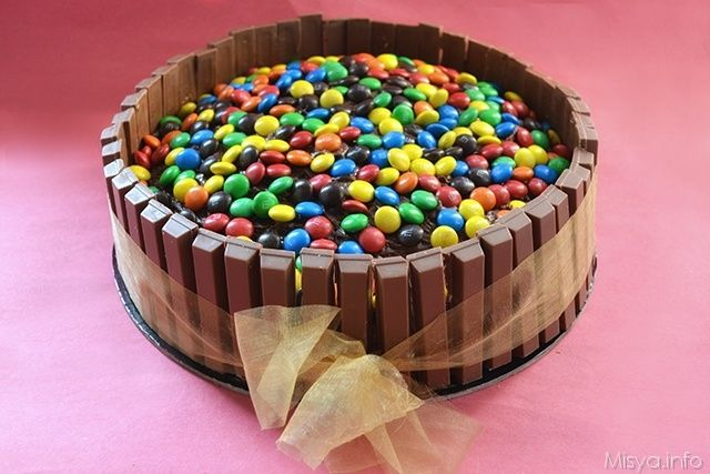 Torta kit kat - kit kat cake