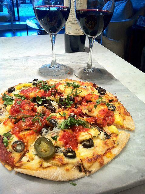 Surpresa para namorado (marido)  pizza romântica