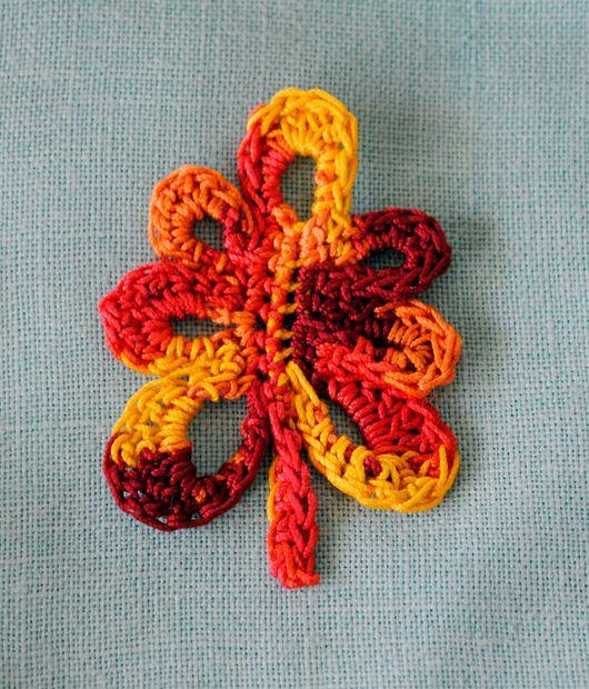 Oak Leaf Knitting Pattern Free : free oak leaf crochet pattern Crochet Flowers & Leaves Pinterest