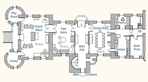 Chateau du pin floor plans castles palaces pinterest for Ground floor vs first floor