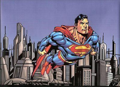 Dc comics superman wallpaper border