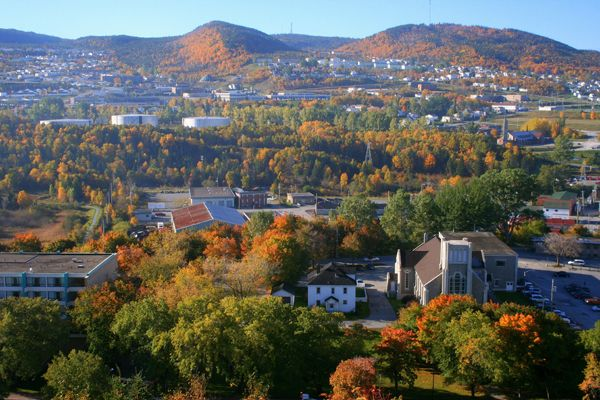 Corner Brook (NL) Canada  city pictures gallery : Overlooking Corner Brook, NL | Canadian Eh! | Pinterest