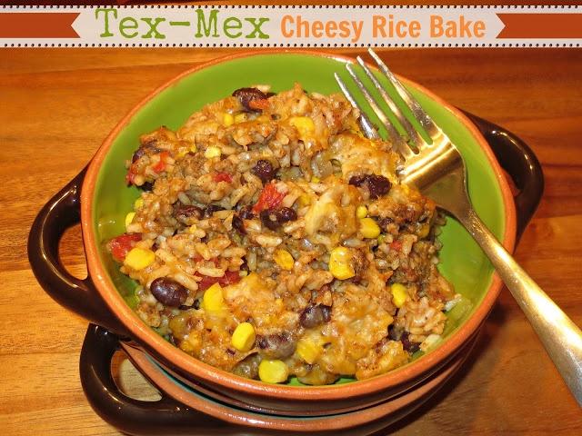 Tex-Mex Cheesy Rice Bake | Yummies | Pinterest