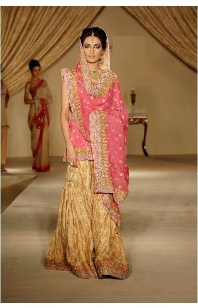 gharara  monly worn by muslims originally popular in india and