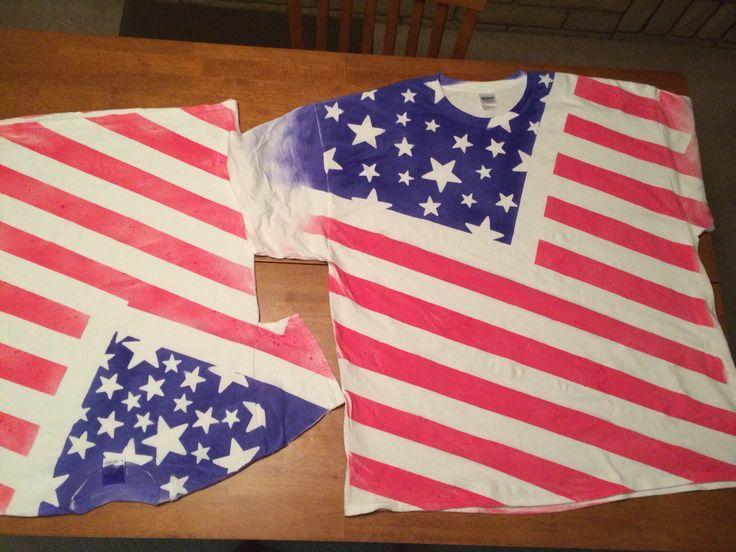fourth of july shirts diy