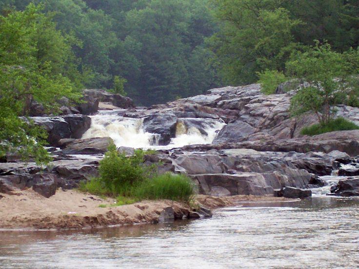 Landscaping Rock Eau Claire : Big falls park near eau claire wi our community