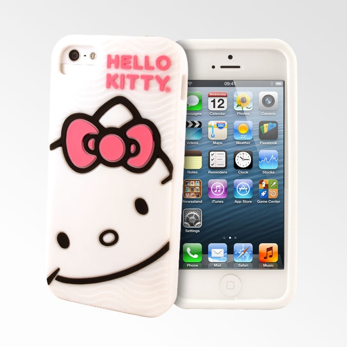 iphone casesIphone 5 Cases Hello Kitty 3d