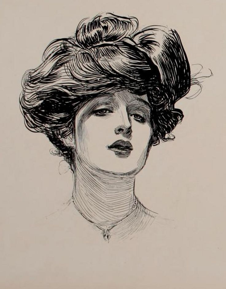 Gibson Girl Evelyn Nesbit |
