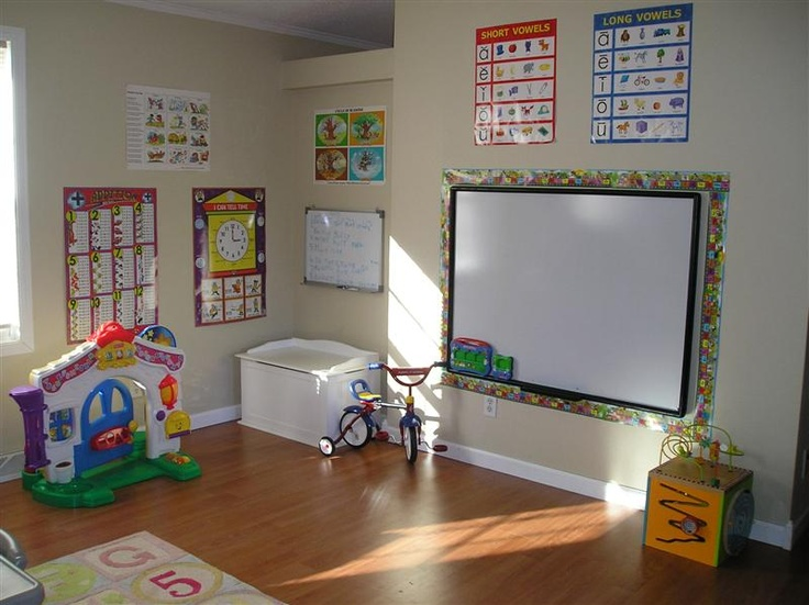 Homeschool room decorating ideas unschooling homeschool for Art room decoration school