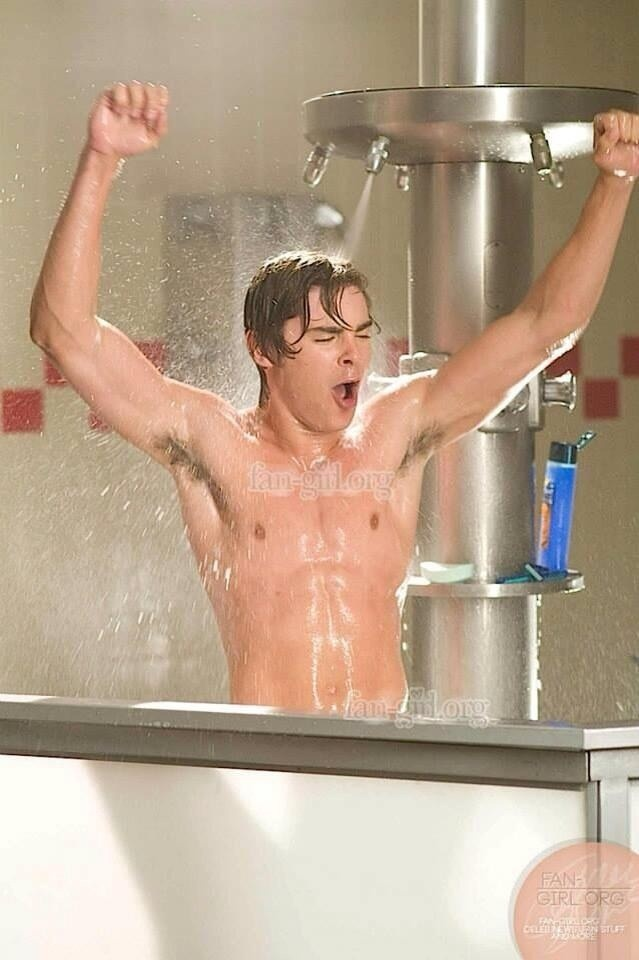 Zac Efron Naked In The Shower 16