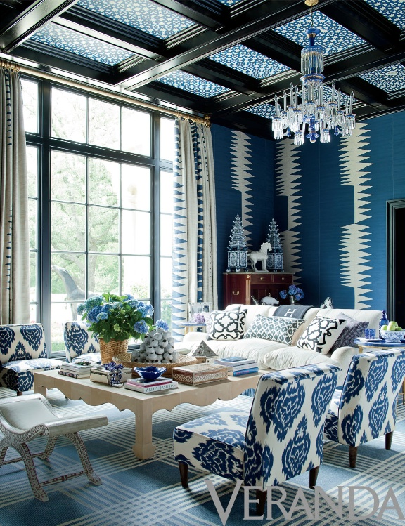 Pin by Veranda Magazine on Color Blue White Pinterest